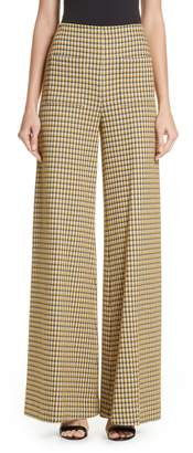 Hellessy Luc Houndstooth Wide Leg Pants