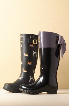 Joules 'Welly' Print Rain Boot