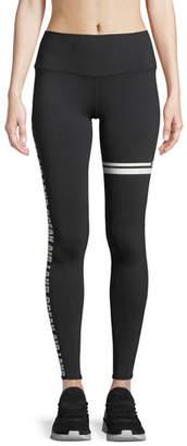 Alo Yoga Airbrush Graphic High-Waist Sport Leggings