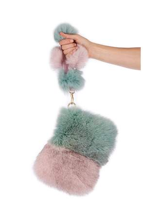 Pandora Popski London Pom Pom Bag - Baby Pink - Mint