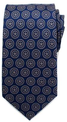 Cufflinks Inc. Cufflinks, Inc. Captain America Shield Silk Tie