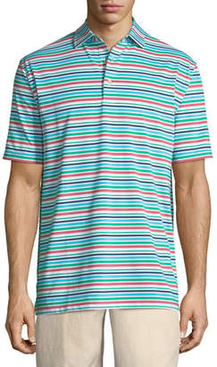 Peter Millar Boylan Striped Polo Shirt