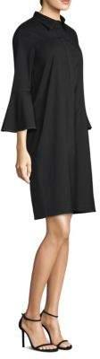 Lafayette 148 New York Lunella Bell-Sleeve Shift Dress