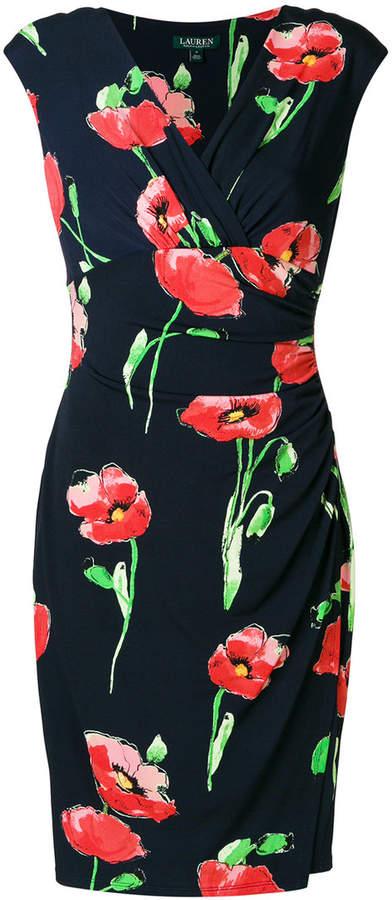 Ralph Lauren poppy print dress