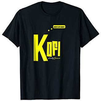 Kofi Friday Born African T-Shirt For Men