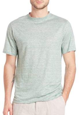 Saks Fifth Avenue COLLECTION Linen Jersey Tee