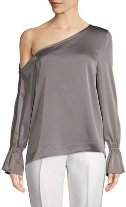 Ramy Brook Asymmetric Drape Top