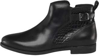 UGG Womens Demi Croc Ankle Boots Black