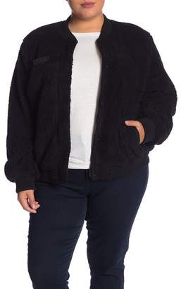 Levi's Fleece Bomber Jacket (Plus Size)