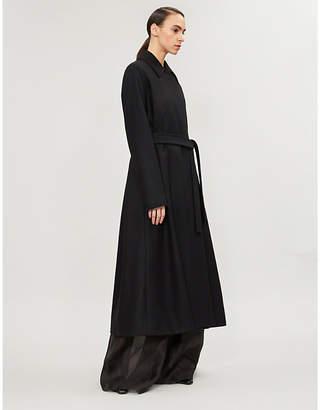 The Row Toomana wool-blend coat