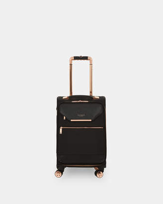 ed0cf1bc168861 Ted Baker EVILLIE Metallic trim small suitcase
