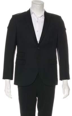 Neil Barrett Wool Peak-Lapel Blazer black Wool Peak-Lapel Blazer