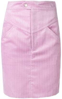 Isabel Marant cord mini skirt