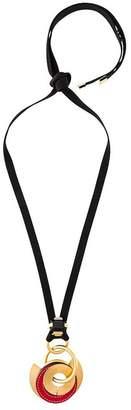 Marni circle pendant necklace