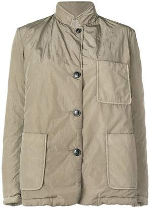Closed military jacket