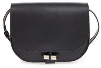 A.p.c. 'Sac June' Leather Shoulder Bag - Black $530 thestylecure.com