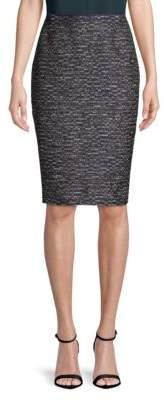 Lafayette 148 New York Revelin Textured Pencil Skirt