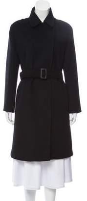 Michael Kors Wool-Blend Belted Coat