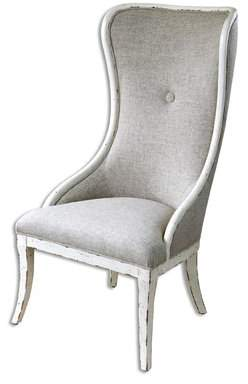 Laurèl Foundry Modern Farmhouse Auserine Aged Wing back Chair