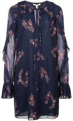 Derek Lam 10 Crosby pleated details floral dress