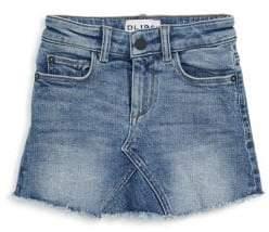 DL Premium Denim Little Girl's Jenny Denim Skirt