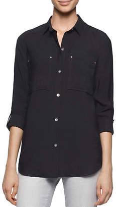 Calvin Klein Jeans Long Sleeve Utility Shirt