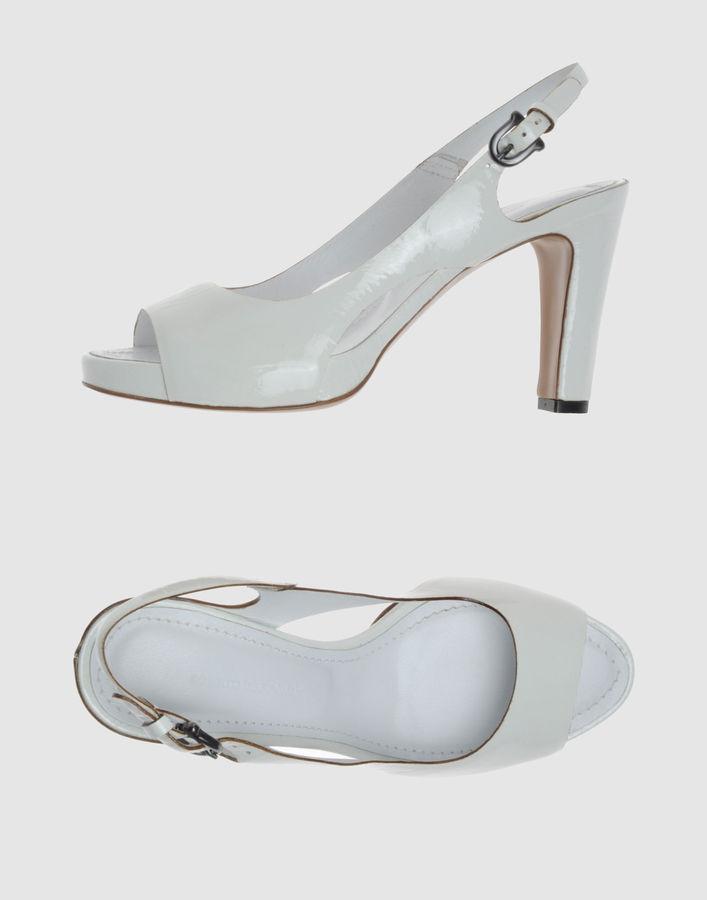 ROBERTO DEL CARLO Platform sandals