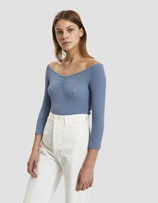 Paloma Wool Alejandra Crepe Jersey Bodysuit