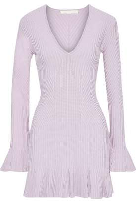 Jonathan Simkhai Ribbed-knit Mini Dress
