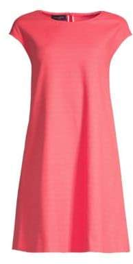 Piazza Sempione Women's Cap Sleeve A-Line Dress - Red - Size 40 (4)