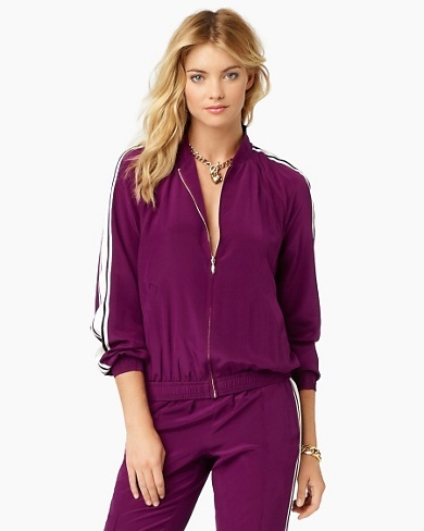 Juicy Couture Silk Track Jacket