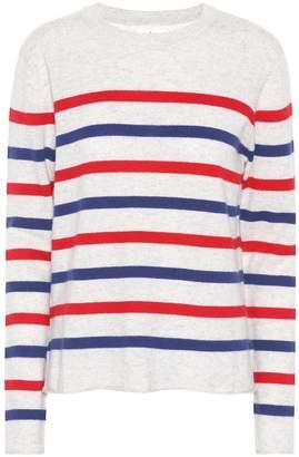 Velvet Jorgie striped cashmere sweater