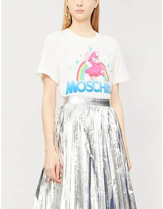 Moschino Fantasy-print cotton-jersey T-shirt