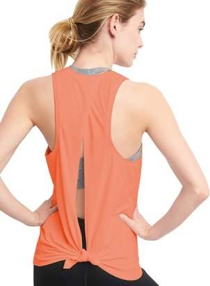 Bestisun Women's Back Split Summer Cold Back Sleeveless Sexy Backless Club Tank Tops Casual T-Shirt