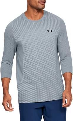Under Armour Vanish Seamless Three Quarter Sleeve T-Shirt