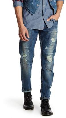 "Gilded Age Morrison Distressed Slim Fit Jeans - 32-34"" Inseam"
