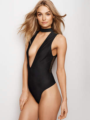 Very Sexy Choker Plunge Bodysuit