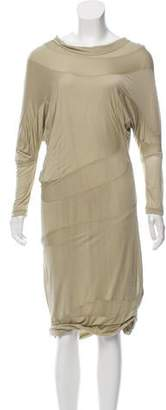 Calvin Klein Collection Jersey Midi Dress