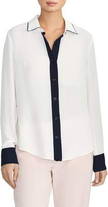 Rachel Roy Collection Colorblock Shirt