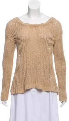 Alice + Olivia Rib Knit Long Sleeve Sweater