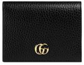 3a93e368869f28 Gucci Petite Marmont Leather Card Case