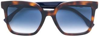 Fendi Eyewear oversized square sunglasses