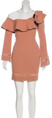 Nicholas One-Shoulder Mini Dress
