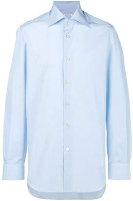 Kiton pointed collar shirt