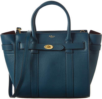 Mulberry Small Zipped Bayswater Leather Tote