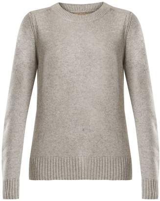 Burberry Crew-neck cashmere knit sweater