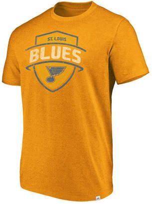 Majestic Men's St. Louis Blues Flex Classic Tri-Blend T-Shirt