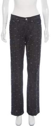 Versace Mid-Rise Wide-Leg Jeans