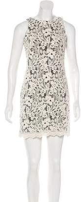 Lauren Ralph Lauren Embroidered Mini Dress