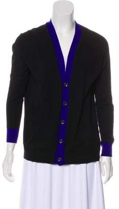 Autumn Cashmere Long Sleeve Button-Up Cardigan
